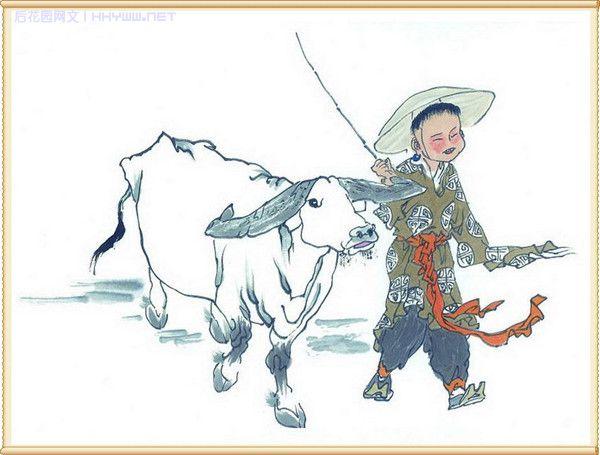 精品绘画 中国水墨画 牛